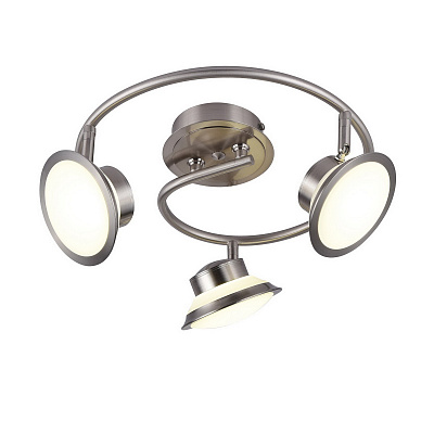 Спот IDLamp Simonta 104/3PF-LED Whitechrome наличие в Москве