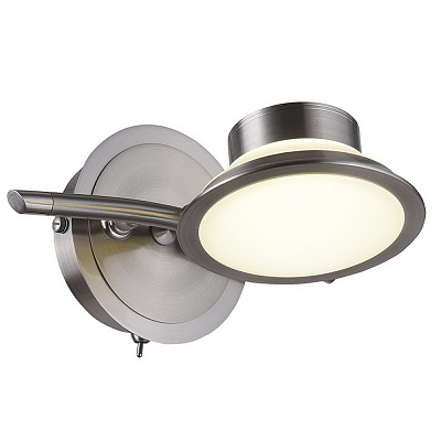 Спот IDLamp Simonta 104/1A-LED Whitechrome наличие в Москве